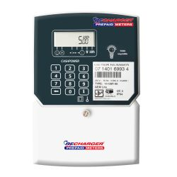 Recharger 80AMP Gemlite Single Phase Prepaid Electricity Meter