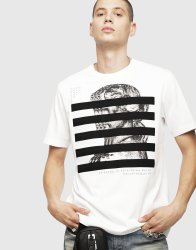 b370111c3 Deals on Diesel T-just-yo T-Shirt - M White