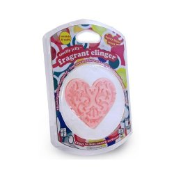 PearlEssence 36002 Smelly Jelly Fragrant Clinger Heart - Berry Bliss