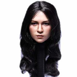 "Hiplay 1 6 Scale Female Figure Head Sculpt Beauty Charming Girl Doll Head For 12"" Action Figure Phicen Tbleague DH028"