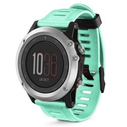 Silicone Replacement Band For Garmin Fenix 3 Watch - Mint