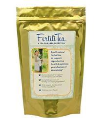 Organic Fertilitea: Fertility Tea 60 Servings Contains Vitex