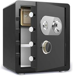 USA Security Safes Zcf Security Safes Anti-theft Safety Boxes For Home Digital Steel Alloy Includes Keys Office Hotel Jewelry Gun Cash Safe Box Color :