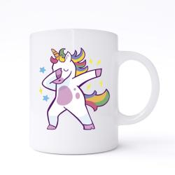 Unicorn Dabbing Mug
