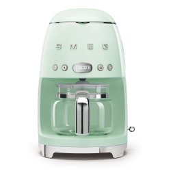 Smeg 50'S Style Glossy Pastel Green Retro Filter Coffee Machine - DCF02PGSA