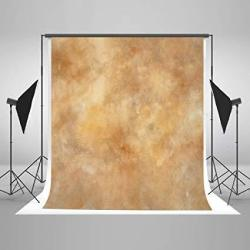 Kate 6.5FT W X10FT H Texture Photography Backdrops For Photographers Microfiber Yellow Abstract Photo Backdrop