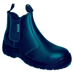 PINNACLE Austra Safety Boots - Chelsea Black SIZE-5