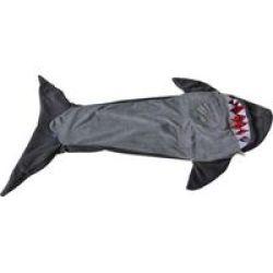 Meerkat Kiddies Shark Sleeping Bag - Grey