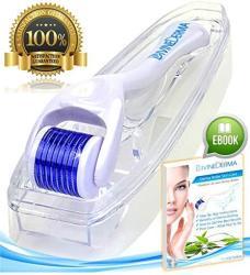 Best Derma Roller Titanium Microneedle 0.3MM Divinederma 540 Micro Needling Dermaroller For Face