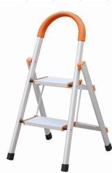 Safeplus Non-slip 2 Step Aluminum Ladder Folding Platform Stool 330 Lbs Load Capacity