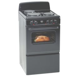 Defy - 3 Solid Plate Plug-in Stove Black
