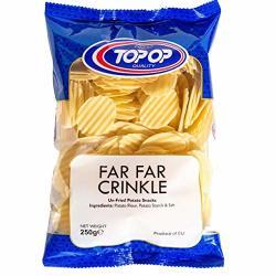 Top-op Far Far Crinkle Un-fried Potato Snack - 250G