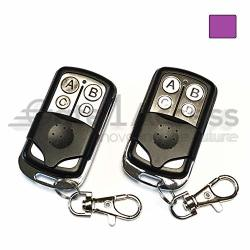 371LM 2 Pack Compatible Garage Door Remote Control With Purple Learn Button Liftmaster Chamberlain Craftsman 370LM 371LM 373LM 139.53753 139.53753 139.18191
