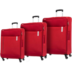 AMERICAN TOURISTER Rolland 3 Piece Set Red