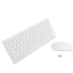 Slim Wireless 2 4 Ghz Keyboard Ultra Thin Mouse Combo Set