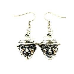 Superheroes Freddy Krueger Dangle Earrings Horror Films Classic Movies Cartoons Premium Quality Jewelry