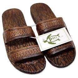 Pali Hawaii Light Brown Jandal + Certificate Of Authenticity 8