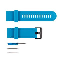 Bossblue Replacement Band For Suunto Traverse Watch Blue Silicone Watch Band Fitness Bands Bracelet Sport Strap Wristband Access