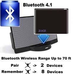 BMR A2DP Bluetooth 4 1 Music Receiver Adapter For Bose Sounddock Iphone  Samsung Nokia Htc LG Echo Alexa | R830 00 | Accessories | PriceCheck SA