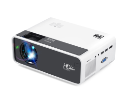 Aun D60 MINI Projector LED HD 2800 Lumens Support 1080P Full HD Resolution Multiple Ports Built-in Speaker Portable Smart Home Theater Projector With
