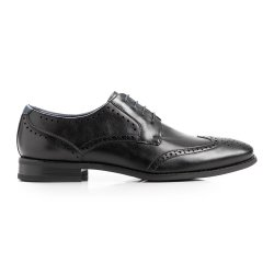 Mkm Traditional Fashion Brogue Black