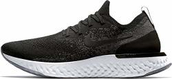 Nike Men's Epic React Flyknit Running Shoes 13 Black dark Grey