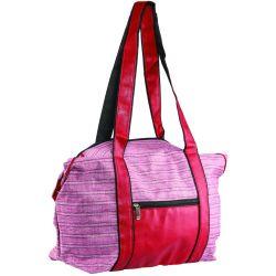Dis-Chem Beach Bag Polyester pvc Purple & Maroon 53X35X17CM