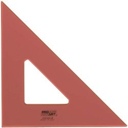 Pro Art 6-INCH 45 90-DEGREE Triangle Fluorescent