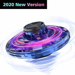 Basein Flynova The Most Tricked-out Flying Spinner Hand Operated Drones For Kids Or Adults - Ufo Flying Toy With 360 Rotating An