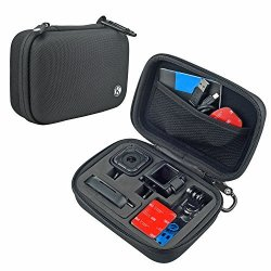 CamKix Camera And Accessory Case For Gopro Hero 5 4 Session Camera - Ideal For Travel Or Storage - Complete Protection - Perfe