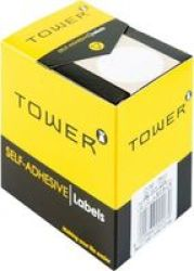 TOWER Label Sheets 32MM Dia Pack Of 300 White