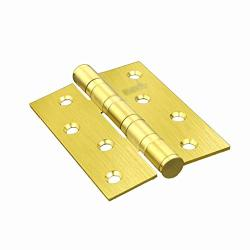 Lezdpp 304 Stainless Steel Thickening Mute 4 Inch Hinge Bearing Loose-leaf Wooden Door Door Swing Folding Folding Single Piece Color : B Size : 2PCS