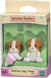 Sylvanian Families Chiffon Dog Twins