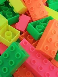 Bricks & Pieces Blocks Lumo 1KG Bag