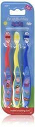 Brush Buddies Peppa Pig Kids' Toothbrush 3 Pack -soft