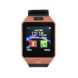 Bluetooth Luckiness Smart Watch Anti-lost Universal Portable Touch Screen Calling Wrist Watch Fitnes