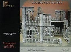 Pegasus Hobbies Gothic City Building Ruins Set 1