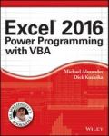 Excel 2016 Power Programming With Vba Paperback