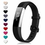 TreasureMax For Fitbit Alta Bands And Fitbit Alta Hr Bands Adjustable Soft Silicone Sports Replacement Accessories Bands For Fit