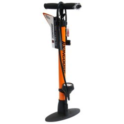 Mongoose - Alloy Floor Pump With Gauge And Puncture Kit