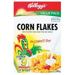 Kelloggs - Corn Flakes 750G