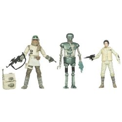 Kenner Star Wars The Empire Strikes Back Special Exclusive Action Figure 3PACK Rebel Set 21B Leia Hoth Outfit Rebel Commander