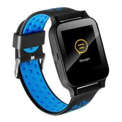Y60 1.54 Inch Ips Screen Bluetooth Smart Watch Support Heart Rate Monitor Sleep Monitoring Calling Remind Blue