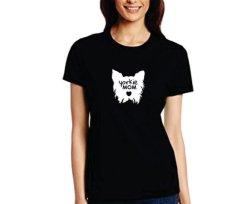 Yorkie Mom T-Shirt - Large