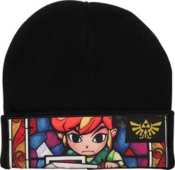 Zelda Link Sublimated Stain Glass Beanie