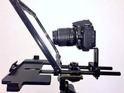 Professional and Portable Teleprompter with Optional Aluminum Case