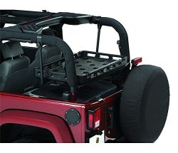 Bestop 4143701 Lower Cargo Rack Bracket System For 2003-2018 Wranglers Excludes Unlimited