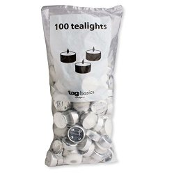 Tag - Tealight Candles Perfect For Adding A Little Light To Any Room White Set Of 100