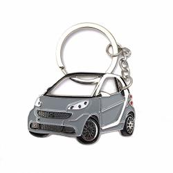 Smart For Two Key Chain Stainless Steel Key Ring For Enthusiasts Or For Gift