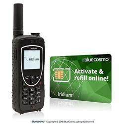 No Vendor Bluecosmo Iridium Extreme Satellite Phone Bundle - Only Truly Global Satellite Phone - Voice Sms Text Messaging Gps Tr